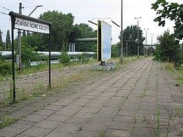 Gdańsk Nowe Szkoty railway station