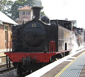 South Maitland Railway - SMR 10 at Maitland during Hunter Valley Steamfest