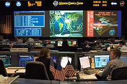 STS-115 Shuttle (White) Flight Control Room