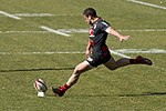 ST vs CO 2012-03-10 - 42 - Conversion kick by Luke McAlister.jpg
