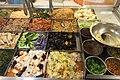 SZ 深圳市 Shenzhen 福田 Futian 國際人才大廈 Rencai Building 華潤萬家超級市場 Vanguard Supermarket cool food mixing 涼拌食品 Chinese cold salad Sept 2017 IX1 03.jpg