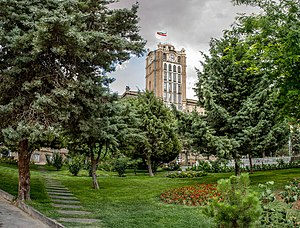 Saat Tower - The Saat Tower, is used to be Tabriz Municipality, but due to its historical value, now is museum.