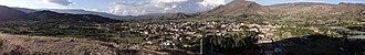 Sáchica - Panorama of Sáchica