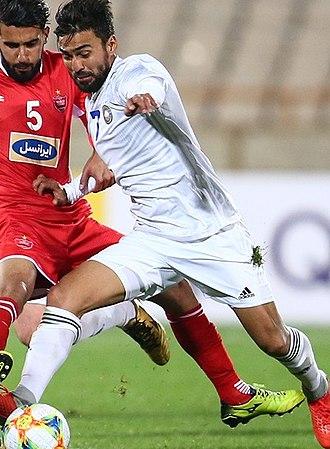 Sadriddin Abdullaev - Image: Sadriddin Abdullayev in FC Pakhtakor in 2019