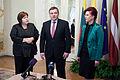 Saeimu oficiālā vizītē apmeklē jaunievēlētais Lietuvas Seima priekšsēdētājs (8266877290).jpg