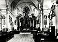 Saint Anthony of Padua church in Łódź-Łagiewniki, interior, Włodzimierz Pfeiffer, 002.jpg