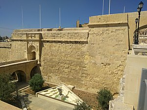 Fortifications of Birgu - Image: Saint John Bastion