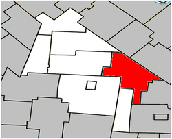 Location within Acton Regional County Municipality