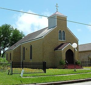 Sts. Constantine and Helen Serbian Orthodox Church - Image: Saints Constantine and Helen Serbian Orthodox Church in Galveston