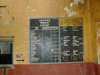 Sakleshpur - Inside an abandoned railway station
