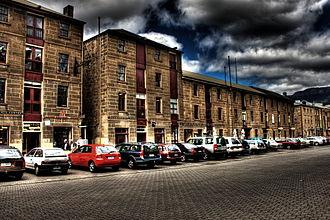 Salamanca Place - Image: Salamanca Place 2008