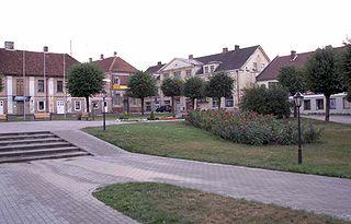 Saldus Town in Saldus Municipality, Latvia