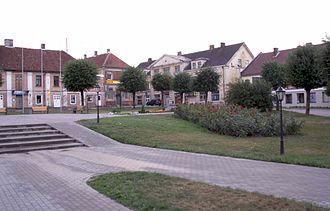 Saldus - Image: Saldus Stad