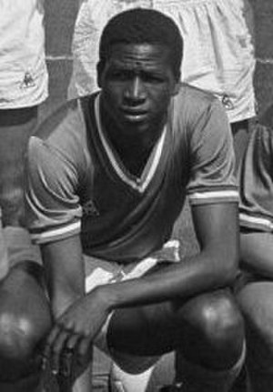 Salif Keïta (Malian footballer) - Keita with Saint-Étienne in 1968
