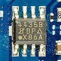 Samsung NC10 - motherboard - Siliconix 4435B-1272.jpg