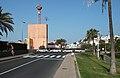 San Agustin shopping center and taxis.jpg