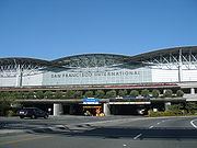 Exterior view of the International Terminal