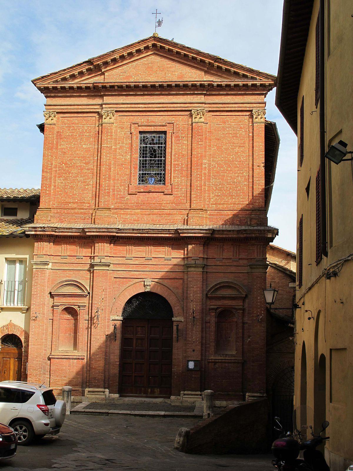 San Giovannino Della Staffa Siena Wikipedia