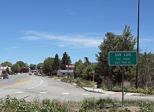 San Luis mailbbox