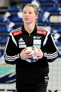 Sanna Solberg-Isaksen Norwegian handball player