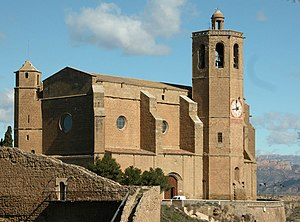 Balaguer - Church of St. Mary.