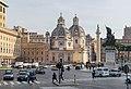 Santa Maria of Loreto church and Holy Name of Mary church in Rome (1).jpg