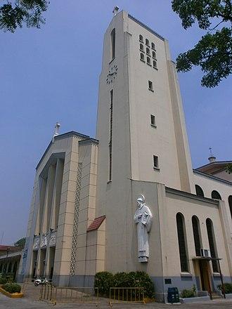 Santo Domingo Church - Façade and belfry of Santo Domingo