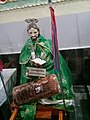 Santo patrón de San Mateo Huexoyucan de visita en Totolac, Tlaxcala.jpg