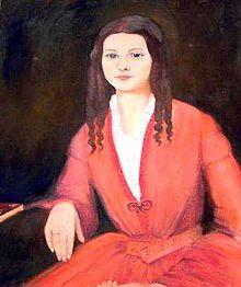 First wife, Sarah Knox Taylor