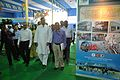 Saroj Ghose - Arundhaty Ghosh - Manish Gupta with NCSM Dignitaries Visit Mobile Science Exhibition - Inaugural Function - MSE Golden Jubilee Celebration - Science City - Kolkata 2015-11-17 4930.JPG