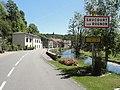 Saucourt, D67a, panneau d'entrée et bief du Rognon.jpg