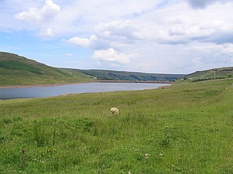 Scar House Reservoir - Image: Scar House Reservoir