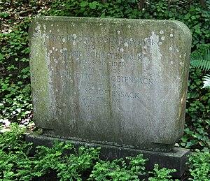 Otto Schoetensack - Schoetensack's grave in Heidelberg