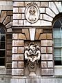 Sculptured detail in the courtyard at Somerset House - geograph.org.uk - 1596416.jpg