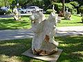 Sculptures, Hagoshrim,Israel.JPG