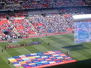 2009 Football League One play-off Final - Image: Scunthorpevs Millwall Playoff Final