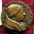 Scuola romana sotto leone X, medaglia di leone X e dea roma.JPG