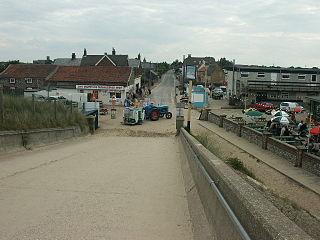 Sea Palling village and civil parish in North Norfolk, UK