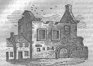 Seagate Castle - Seagate Castle in the 1850s