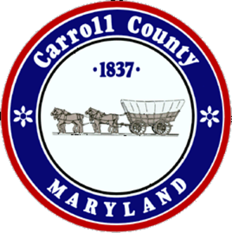 Carroll County, Maryland - Image: Seal of Carroll County, Maryland