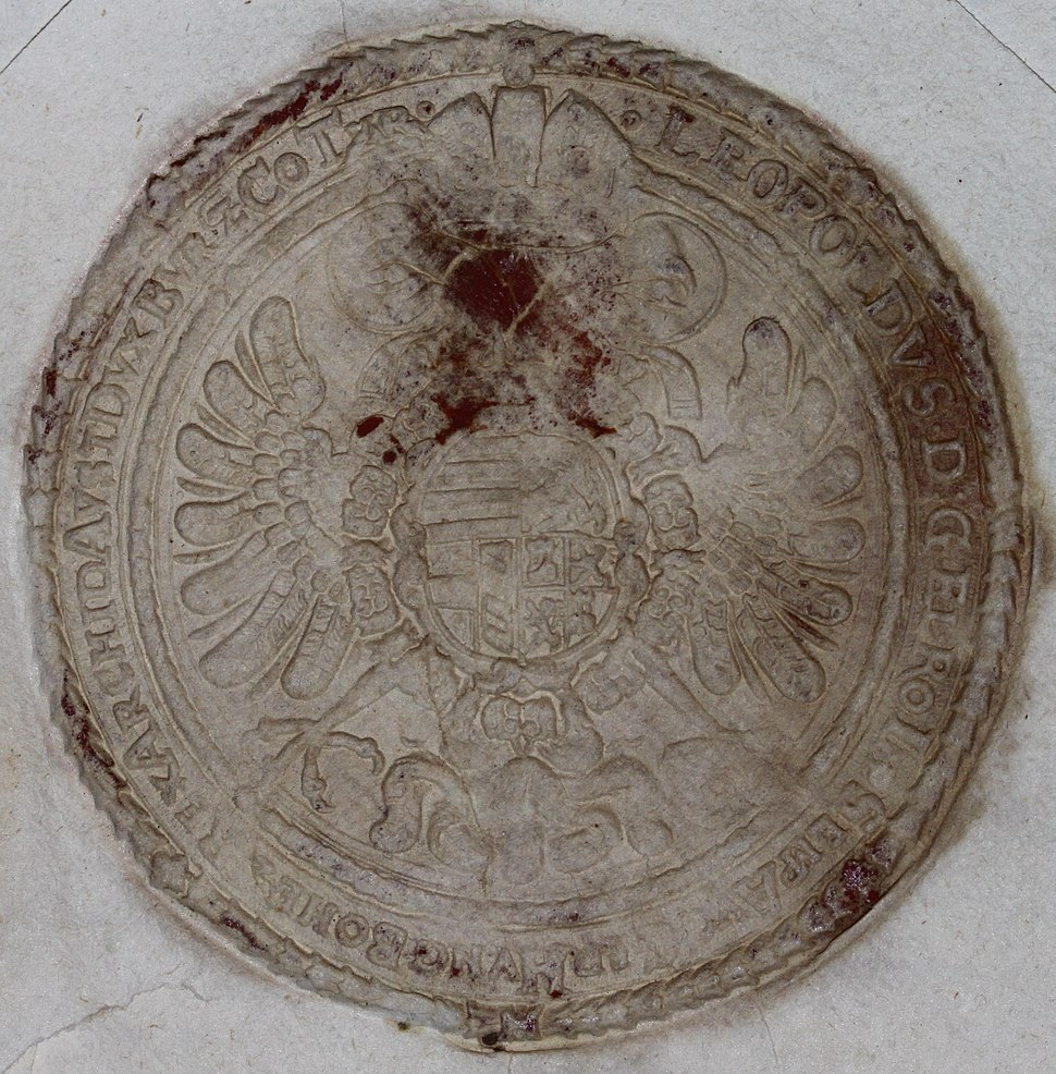 Seal of Leopold I Holy Roman Emperor