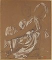 Seated Female Figure. Study for the Figure of the Iliad in- The Apotheosis of Homer MET 1972.118.219.jpg