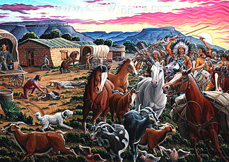 Second Battle of Adobe Walls - Study of the Second Battle of Adobe Walls, by Kim Douglas Wiggins.