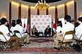 Secretary Clinton and Ambassador Roos at the Tomodachi Event (7527673862).jpg
