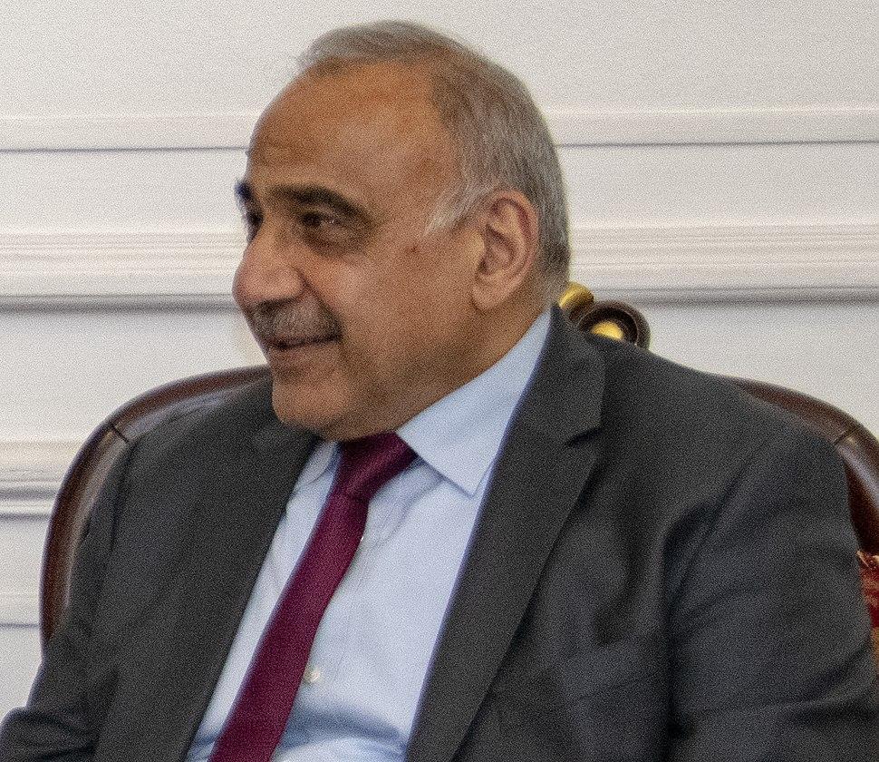 Secretary Pompeo Meets with Iraqi Prime Minister Adil Abdul-Mahdi (40836695893) (cropped)