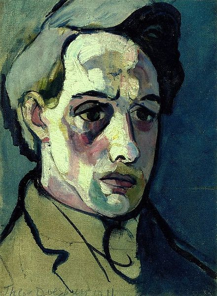 پرونده:Self-portrait by Theo van Doesburg (1915).jpg
