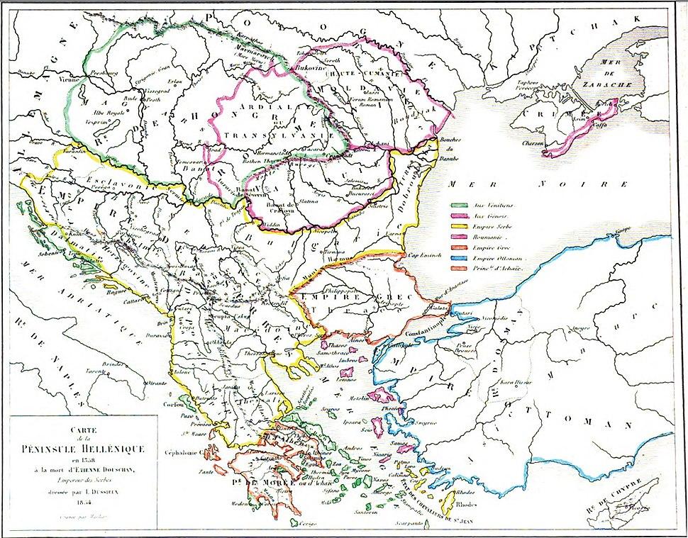 Serbian Empire 1358