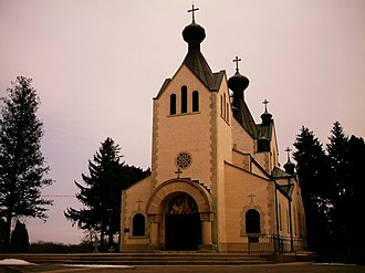 Gurnee, Illinois - Gurnee's Serbian Orthodox community is serviced by St. Sava Monastery