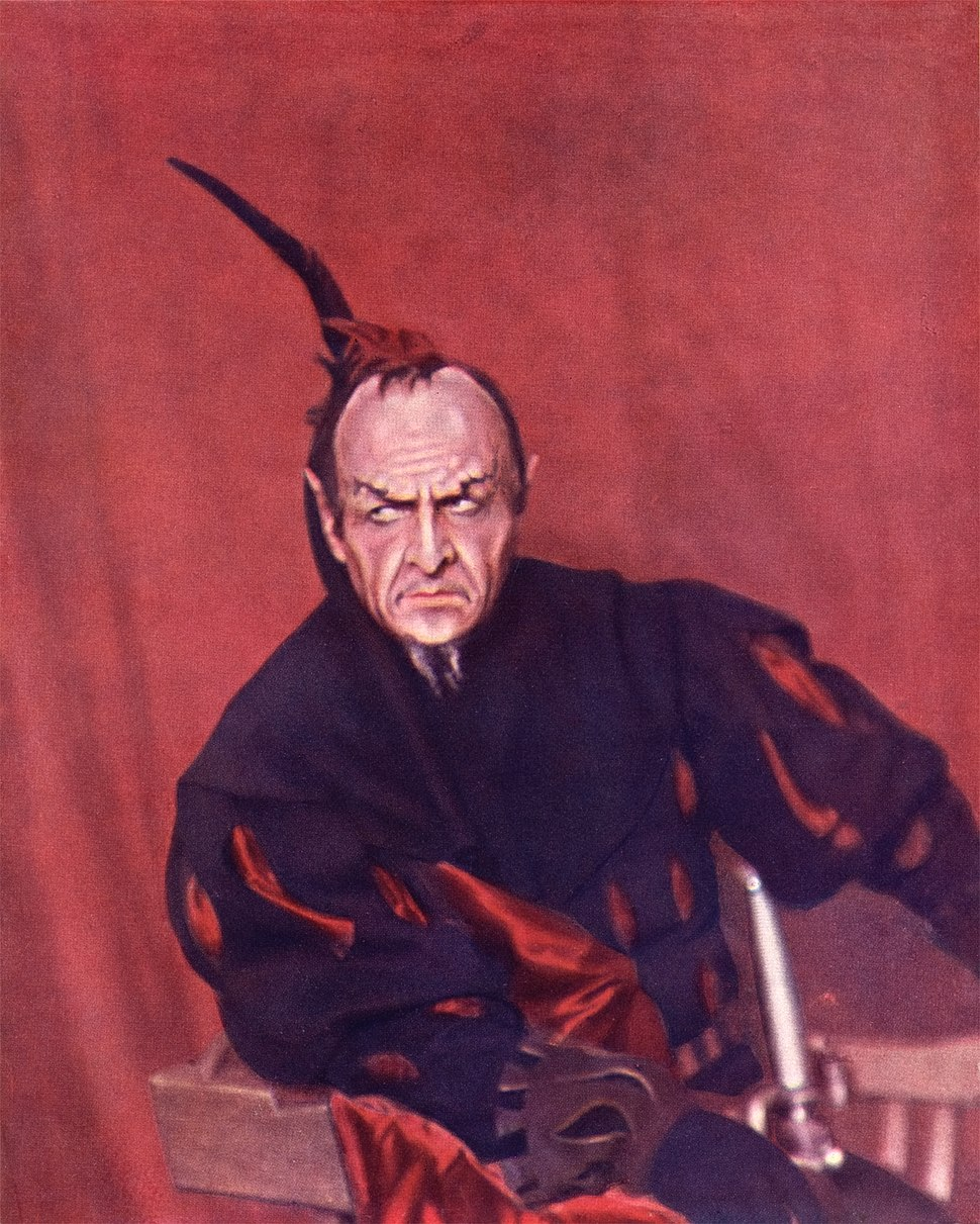 Sergei Prokudin-Gorskii - Feodor Chaliapin as Mephisto