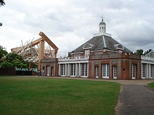 Serpentine Galleries - Image: Serpentine Gallery and 2008 Pavilion
